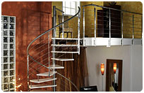 Stainless Spiral Staircase